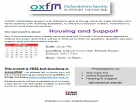 Oxfordshire Family Support Network – Housing & Support Network